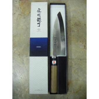 รีวิวพันทิป มีดขึ้นปลาญี่ปุ่น YOSHIKIN BUNMEI 19.5 ซม. แท้ เชฟซูชิ