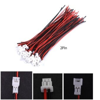 Harga YOSOO 20 Sets/pack Micro JST 1.25MM Male&Female Connector Plugwith Cables (2Pin) - intl