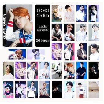 Youpop KPOP BTS Bangtan Boys Summer Package Photo JIMIN Album LOMOCards Self Made Paper Card HD Photocard LK400 - intl