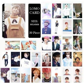 Youpop KPOP BTS Bangtan Boys Summer Package Photo V Album LOMOCards Self Made Paper Card HD Photocard LK403 - intl