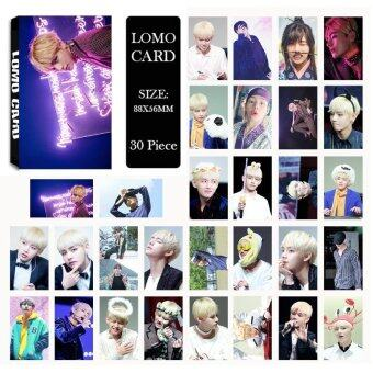 Youpop KPOP BTS Bangtan Boys WINGS V Photo Album LOMO Cards SelfMade Paper Card HD Photocard LK429 - intl