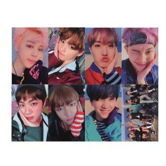 Youpop KPOP BTS Bangtan Boys WINGS YOU NEVER WALK ALONE Album PhotoCard K-POP Self Made Paper Cards Autograph Photocard XK404 - intl