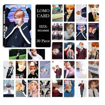 Youpop KPOP BTS Bangtan Boys Young Forever pt.1 JIMIN Photo AlbumLOMO Cards Self Made Paper Card HD Photocard LK326 - intl
