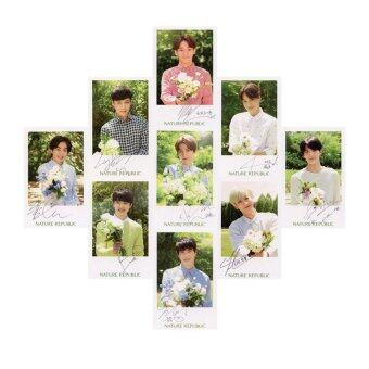 Harga Youpop KPOP EXO EXO-K EXO-M 2016 Nature Trail Album Photo Card SelfMade Paper Cards Autograph Photocard XK323 - intl