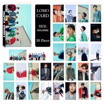 Youpop KPOP MONSTA X SHINE FOREVER Album LOMO Cards K-POP NewFashion Self Made Paper Photo Card HD Photocard LK502 - intl