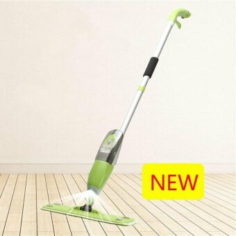YUYI New 360-degree Rotation Spraying Water Mop Free Hand WashingFlat Mop Lazy Mop Wooden Floor Mops Green - intl