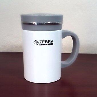 Zebra ถ้วยน้ำสูญญากาศ Century 0.45 ลิตร สีขาว