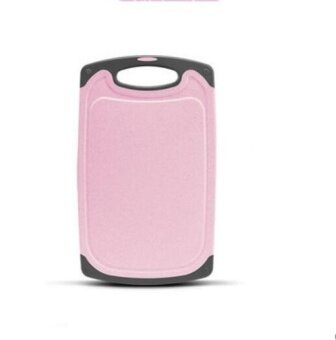 ZH Antibacterial and mildew proof plastic household rolling board(pink) - intl