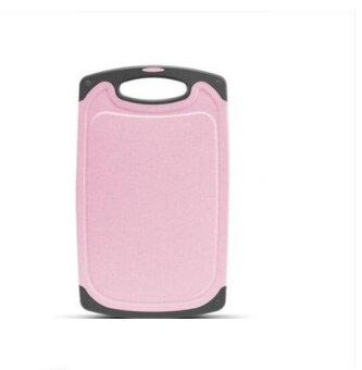 ZH Antibacterial and mildew proof plastic household rolling board(pink) - intl