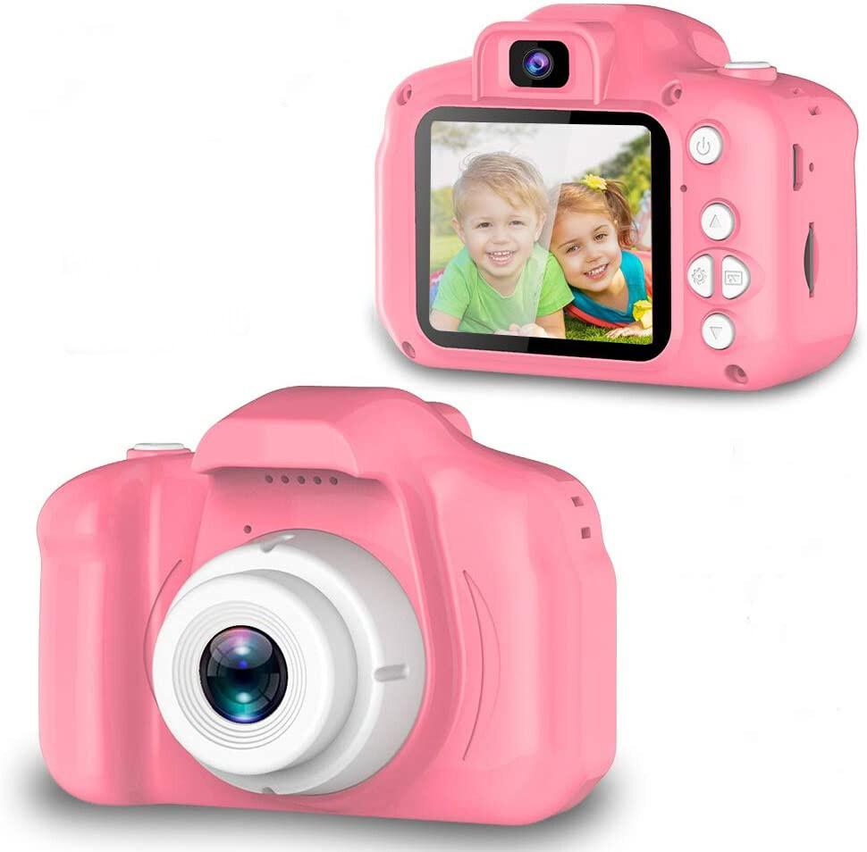 ใหม่!? กล้องถ่ายรูปเด็ก ถ่ายรูปได้จริง ถ่ายวีดีโอได้ ขนาดมินิ กล้องถ่ายรูปสำหรับเด็ก 3-10 ปี (ไม่รวมการ์ด) ของขวัญเด็ก Digital Camera Mini Kids Camera