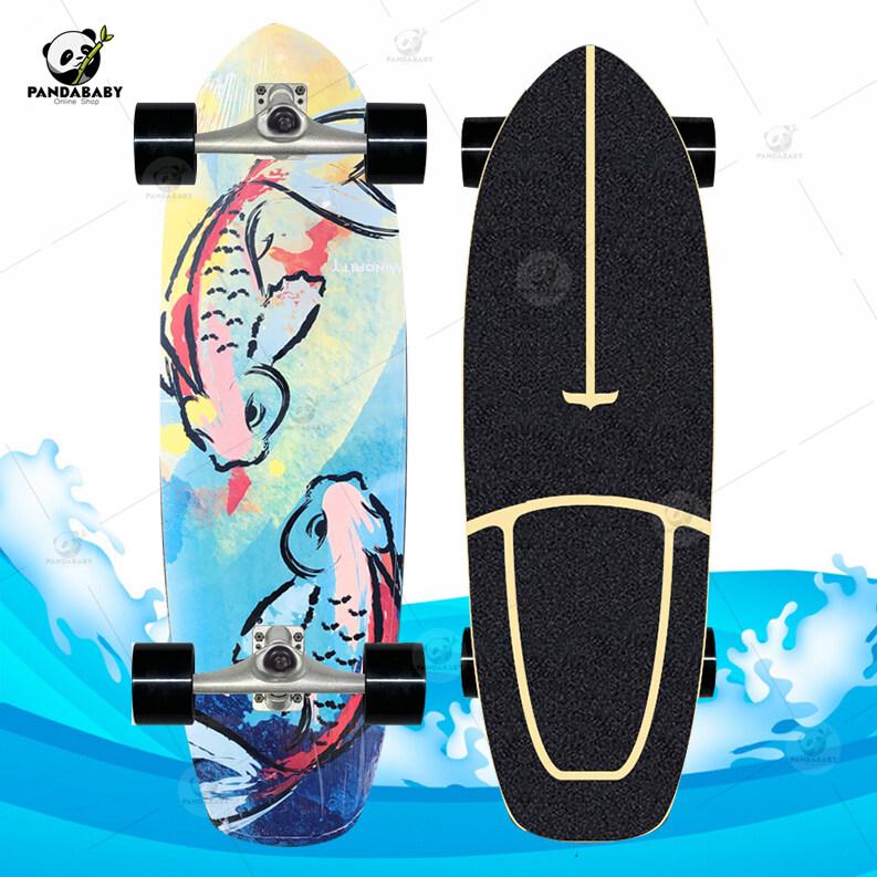 พร้อมส่ง! เซิร์ฟสเก็ต Surf Skate CX4 30 นิ้ว Skateboard สเก็ตบอร์ด ทรัค เซิร์ฟสเก็ตบอร์ดสำหรับผู้เริ่มเล่น/มืออาชีพ รอรับสินค้าภายใน 1-3 วัน จัดส่งเร