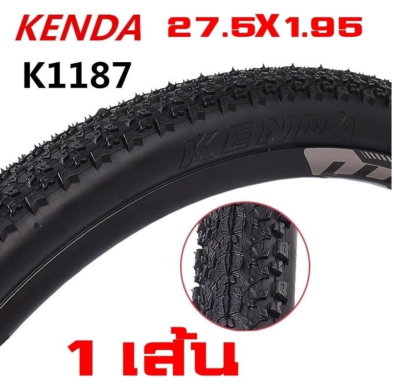 ยางนอกจักรยาน KENDA 27.5X1.95 K1187 ขอบลวด