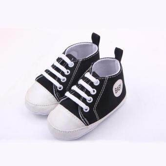Harga 1 pair Sports Sneakers Newborn Baby Boys Girls First Walkers ShoesInfant Toddler Soft Bottom Anti-slip Shoes - intl