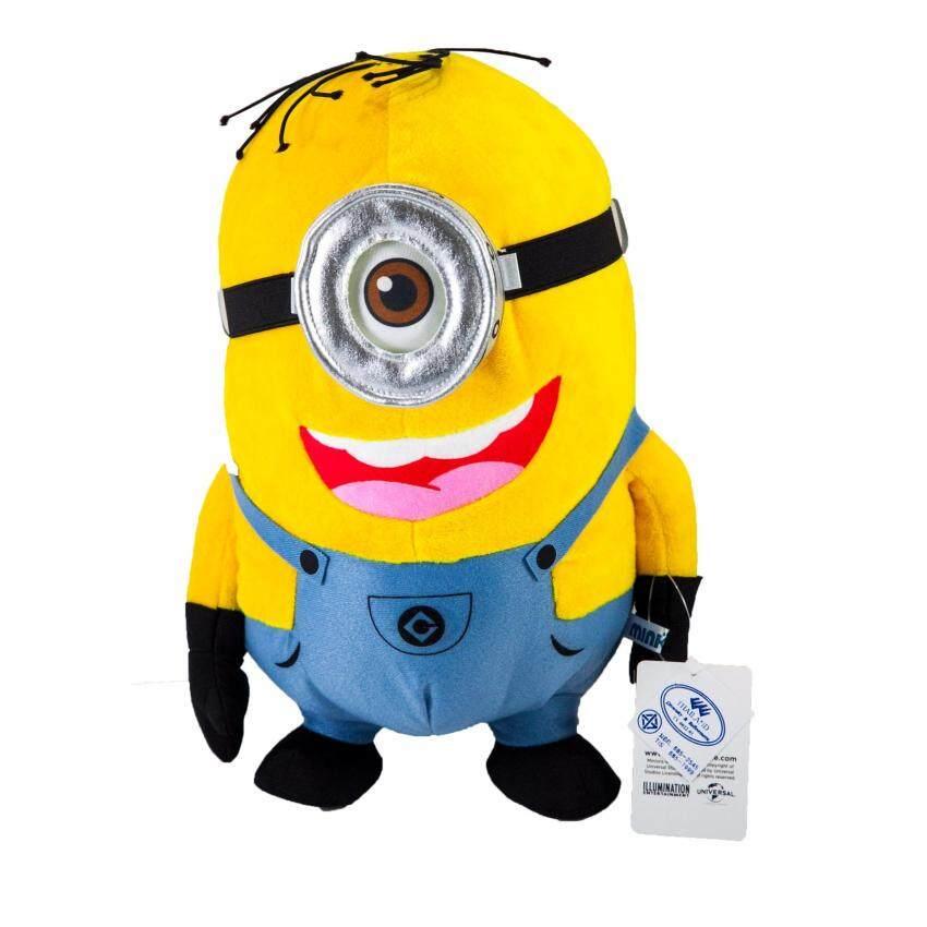 ตุ๊กตา มินเนี่ยน ผ้าขน  1 ตา (Size M) ขนาด 12 นิ้ว (ท่ายืน)