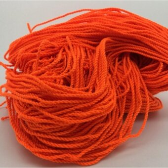 100 Pcs Durable Polyester String Multi Color Pro-poly Rope for KidsChildren Yoyo Toy,Orange - intl