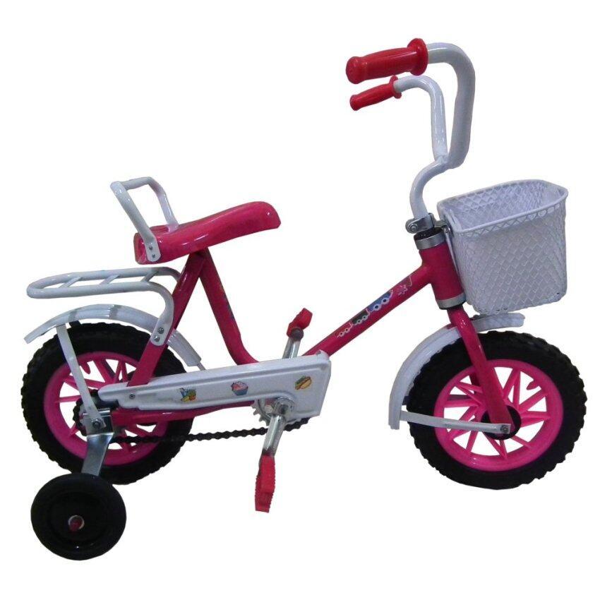 จักรยานโบราณ ขนาด 10 (สีชมพู) image