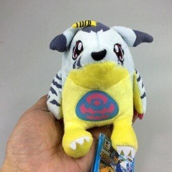 10pcs/lot 4\ Gabumon Plush Digimon Adventure ISHIDA YAMATO Gabumon Plush Toys Plush Keychain Handmade Soft Stuffed Toys Gift - intl