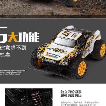 รถบังคับ ขนาด 1:18 สเกล รีโมท 2.4GHz ความเร็วสูงสุด 20 กม./ชมรถออฟโรดลุยน้ำได้ ลุยทราย โคลน ไต่เนิน สุดแรง สุดลุย SAND DEVIL NO.8603
