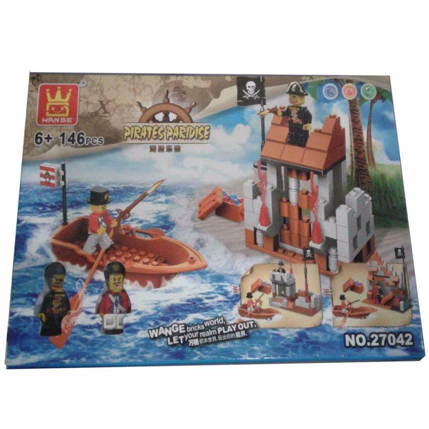 ตัวต่อเลโก้ชุดโจรสลัด 146 pcs. No.27042