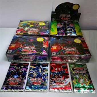 16 Pc/lot Yugioh Cards Game Paper Cards Childrens Toys Yu Gi OhGame Collection Cards Christmas Gift Brinquedo Toy - intl