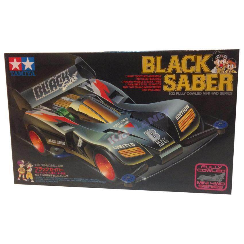 18515 Mini 4 WD  Black Saber