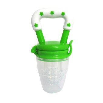 1Pcs Baby Pacifier Fresh Food Milk Nibbler Feeder Kids NippleFeeding (S Color Random) - intl