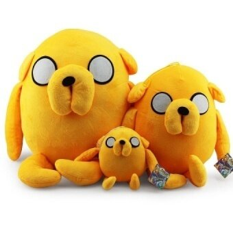 1Pcs Jake Plush Adventure Time Cute Jake Stuffed Plush Toy Soft Dolls 3 Size Selectable 22cm/45cm/60cm Great Gift - intl