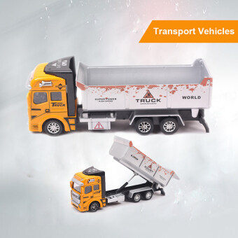 2016 Best Quality Transport Vehicles Model Car Alloy Metal &Plastic Toy Cars Boys Toys Gift(yellow)