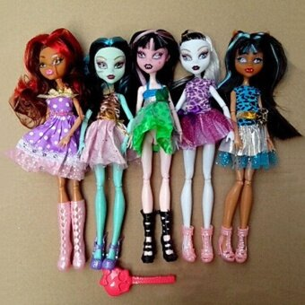 27cm Halloween Doll Toys Ghost Princess Action Figures Kids Tricks Festival - intl