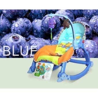 2Kids BABY THRONE เปลโยก 3 in 1-สีฟ้า ...