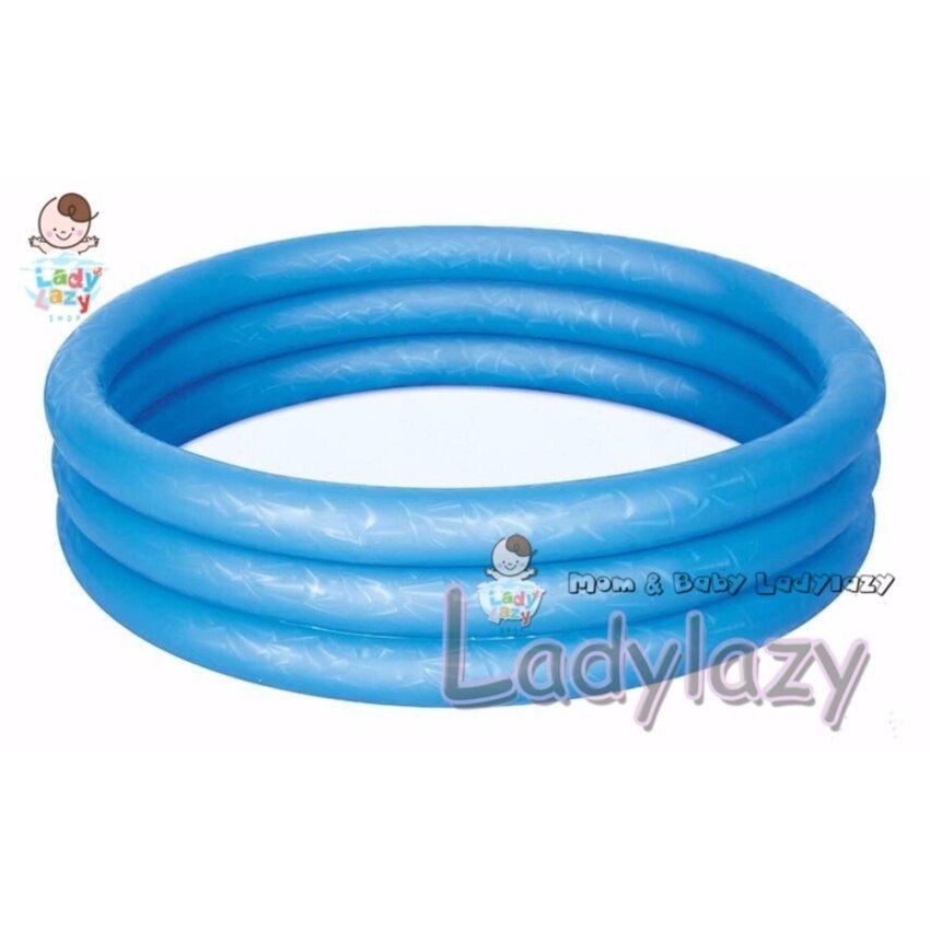 สระน้ำเด็ก 3 ชั้น ขนาด 122x25 cm สีน้ำเงิน