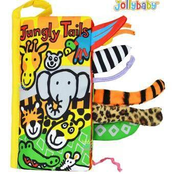 หนังสือมีหางเสริมพัฒนาการ 3 มิติ Jungly Tails Jolly Baby