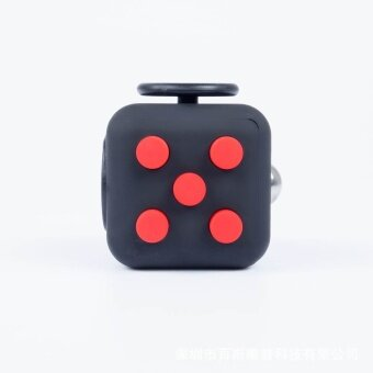 3 pcs Factory outlets Fidget Cube decompression cube  resistance to pressure dice  decompression decompression toysash - intl