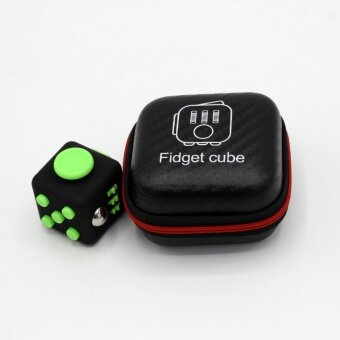 3 pcs Fidget cube 11# black - intl