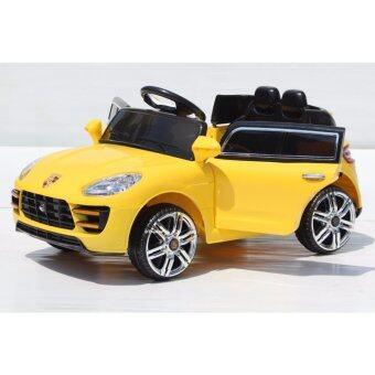 รถเก๋งเด็ก พอร์ช 3188 สีเหลือง