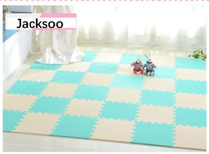 36 Pcs baby EVA Foam Play Puzzle Mat/ Interlocking Exercise Tiles Floor Carpet Rug for Kid,Each 30cmX30cmx 0.8/1cmThick - intl