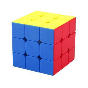 360DSC MF3s 3x3x3 Frosted and Colorful Stickerless Magic Cube Puzzle - 6-Color - intl