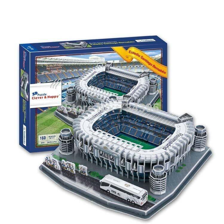 โมเดล3D Puzzle สนามฟุตบอลทีมรีล มาดริด (Santiago Bernabeu)