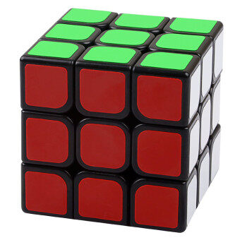 3x3x3 Magic Cube Speed Puzzle Cube Rubik's cube IntelligenceEducational Toys Gift - intl
