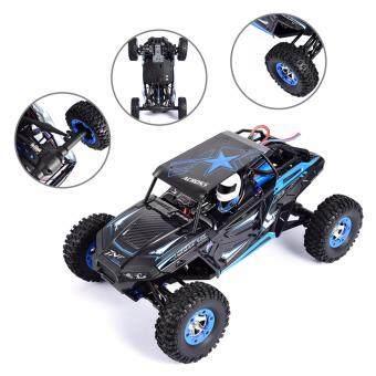 รถบังคับ 4WD. WLtoys 12428 1:12 Scale 2.4G 4WD RC Off-road Car วิทยุบังคับมีหน้าจอ