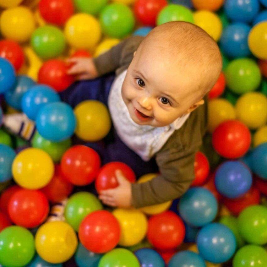 50PCS Balls Baby Kid Secure Pit Toy Swim Soft Plastic Fun Colorful Ocean Balls - intl