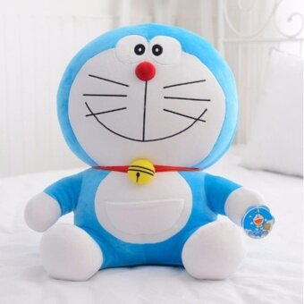 6 Styles 25cm Cute Doraemon Plush Cats Pillow Soft Stuffed DollToys For Kids Gifts - intl