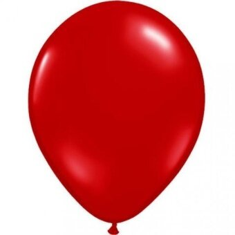 9 Ruby Red Balloons (10 ct) Latex (10 per package) - intl