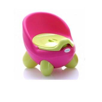 a*bloom กระโถน โถนั่งเด็ก Baby Toilet Training Seat (สีชมพู) ...