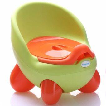 a*bloom กระโถน โถนั่งเด็ก Baby Toilet Training Seat (สีเขียว) ...