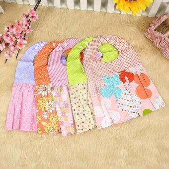 ADS Baby Accessories Decorations Cotton Baby Boy Girls Bandana Bibs Saliva Towel Dribble Scarf Infant Clothing - intl