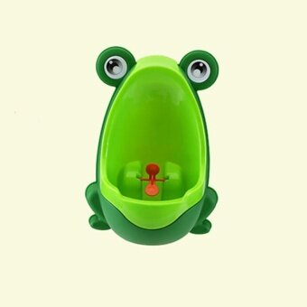 ADS Baby Personal Care Lovely Frog boy kid Urinal Potty Training Kids Urinal For Pee Bathroom - intl