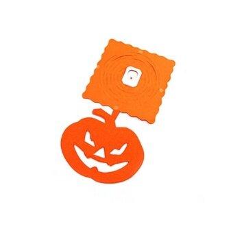 AJKOY Halloween Ornaments paper-Cut pull flower props - PumpkinStyle - intl