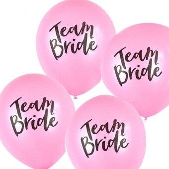 AJKOY Team Bride Letter Balloon Wedding Decoration - Pink - intl