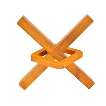 Ama-Wood ของเล่นไม้ไม้เหวี่ยง Square in X - เล็ก